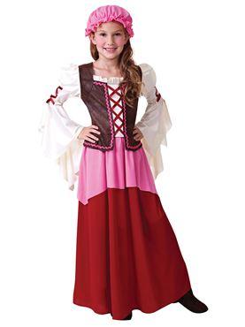 Little Tavern Girl Costume