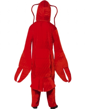 Adult Lobster Costume - Side View