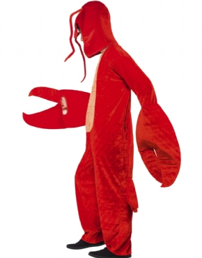 Adult Lobster Costume - Back View