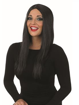 Adult Long Black Wig