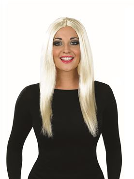 Adult Long Blonde Wig