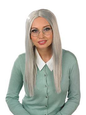 Adult Long Grey Wig