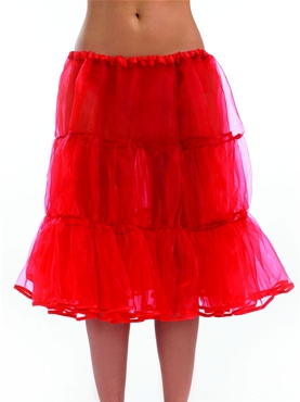 Long Red Underskirt