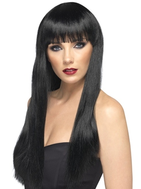 Long Straight Beauty Wig Black