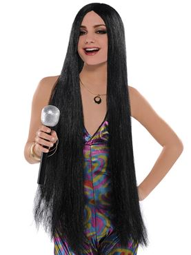 Long Turn Back Time Cher Wig