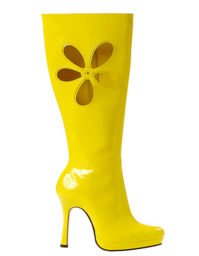 Love Boots Yellow
