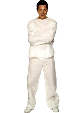 Adult Lunatic Inmate Costume