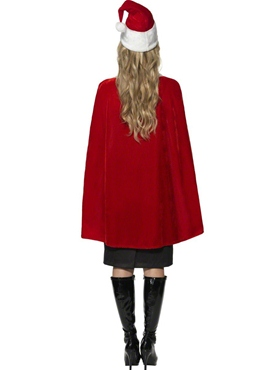 Luxury Christmas Cape - Side View