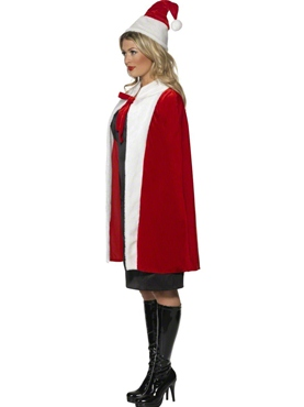 Luxury Christmas Cape - Back View