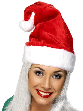 Adult Luxury Santa Hat