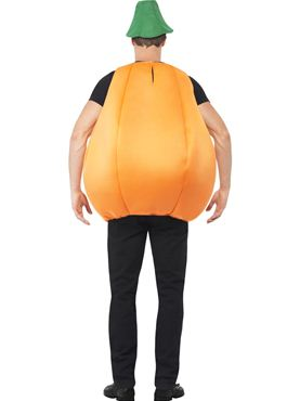 Adult Pumpkin Costume - Side View
