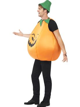 Adult Pumpkin Costume - Back View