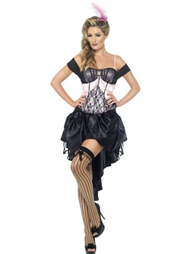 Adult Madame L' Amour Burlesque Costume