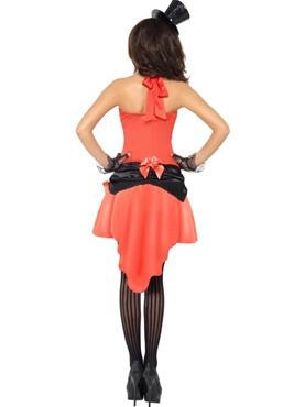 Adult Madame Peaches Costume - Back View