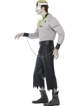 Adult Madhouse Creature Costume - Back View