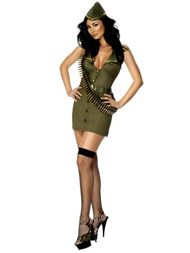 Major Fling Army Costume