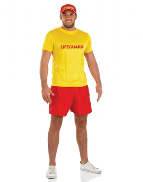 Adult Male Lifeguard Costume Thumbnail