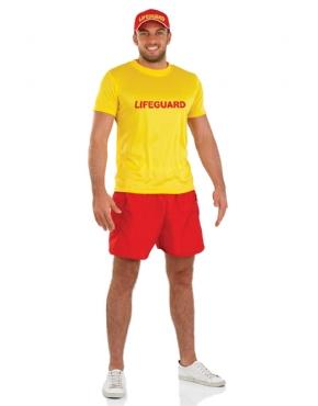 Adult Male Lifeguard Costume