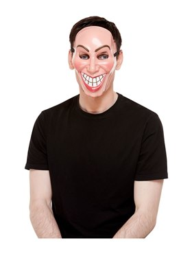 Male Smiler Mask Couples Costume