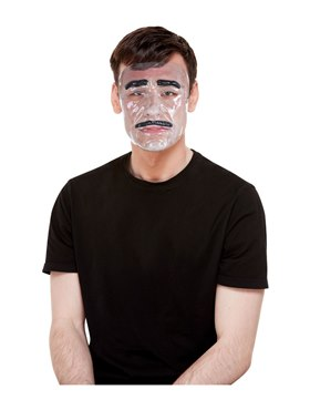 Male Transparent Mask Couples Costume