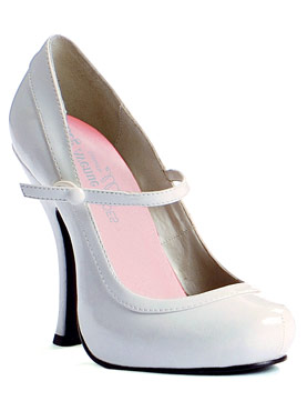 Mary Jane Shoe WHITE