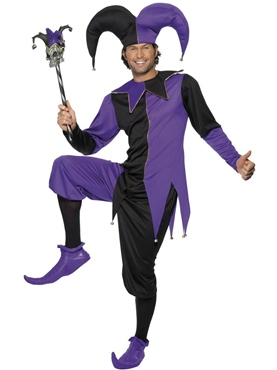 Adult Medieval Jester Costume