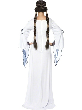 Adult Medieval Maid Costume - Side View