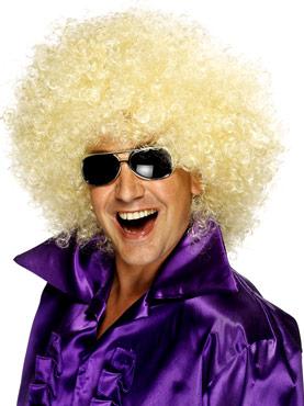 Mega Huge Afro Wig Blonde