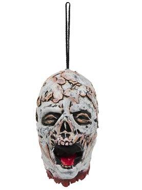 Melting Skeleton Hanging Head Halloween Decoration