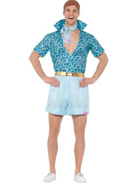 Mens Barbie Safari Ken Costume