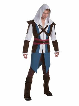 Mens Classic Edward Kenway Costume