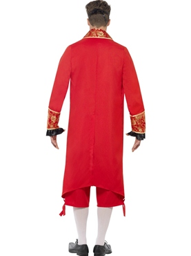Adult Devil Masquerade Costume - Side View