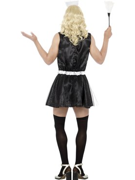 Mens French Maid Costume - Side View