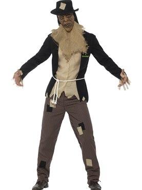 Mens Goosebumps The Scarecrow Costume Couples Costume