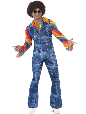 Adult Mens Groovier Dancer Costume Couples Costume