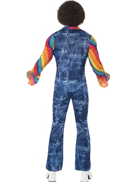 Adult Mens Groovier Dancer Costume - Side View