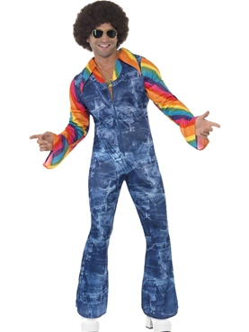 Adult Mens Groovier Dancer Costume Thumbnail