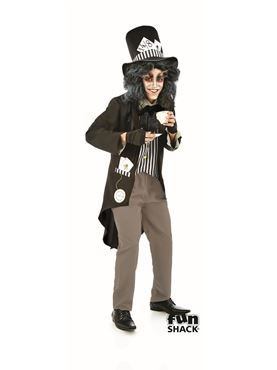 Mens Hallowed Hatter Costume