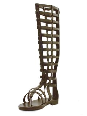 Mens Knee High Multistrap Sandals