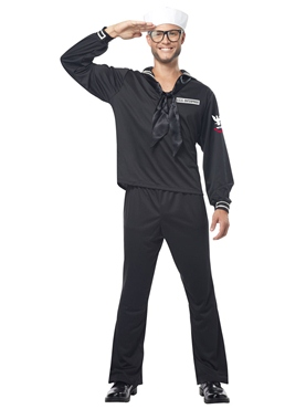 Adult Mens Navy Sailor Costume Thumbnail