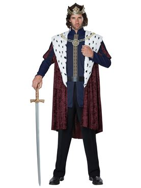 Mens Royal Storybook King Costume Couples Costume
