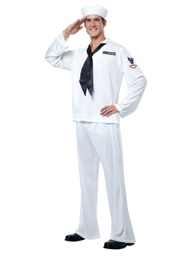 Adult Mens Sailor Costume Thumbnail
