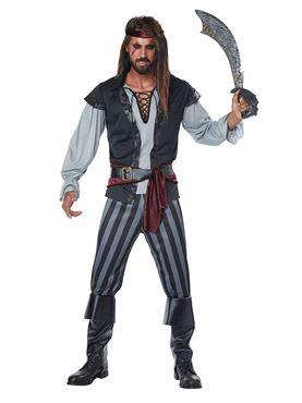 Mens Scallywag Pirate Costume