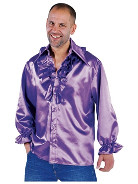 Adult Mens Purple Soul Shirt