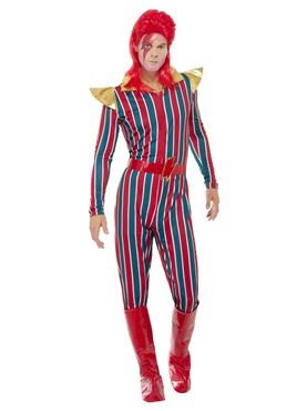 Mens Space Superstar Costume - Back View