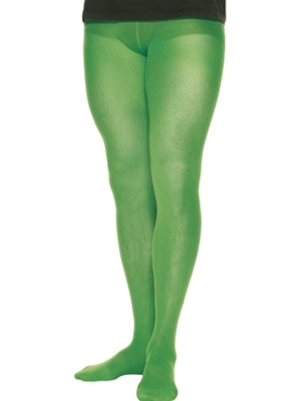 Mens Tights Green