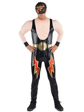 Adult Wrestler Costume