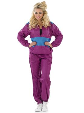 Adult Female 80s Shell Suit Costume Thumbnail