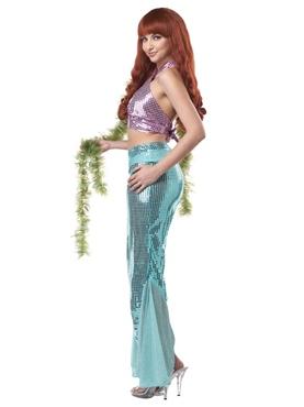 Adult Mesmerizing Mermaid Costume - Side View