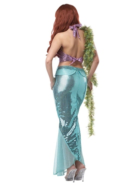Adult Mesmerizing Mermaid Costume - Back View